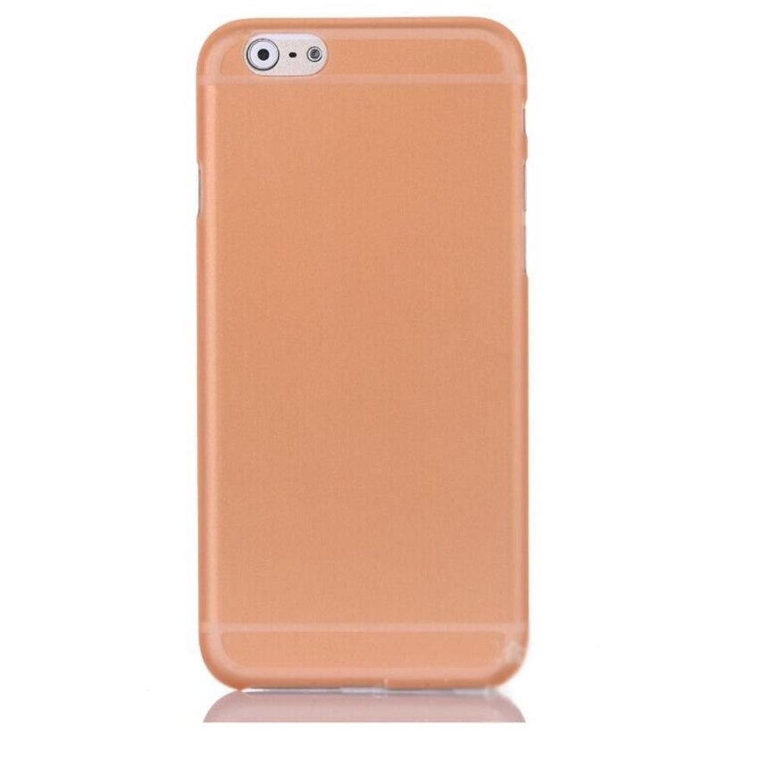 0.29mm Ultra Thin Clear Matte Hard Case Cover for iPhone 5 5G 5S Orange (Intl)