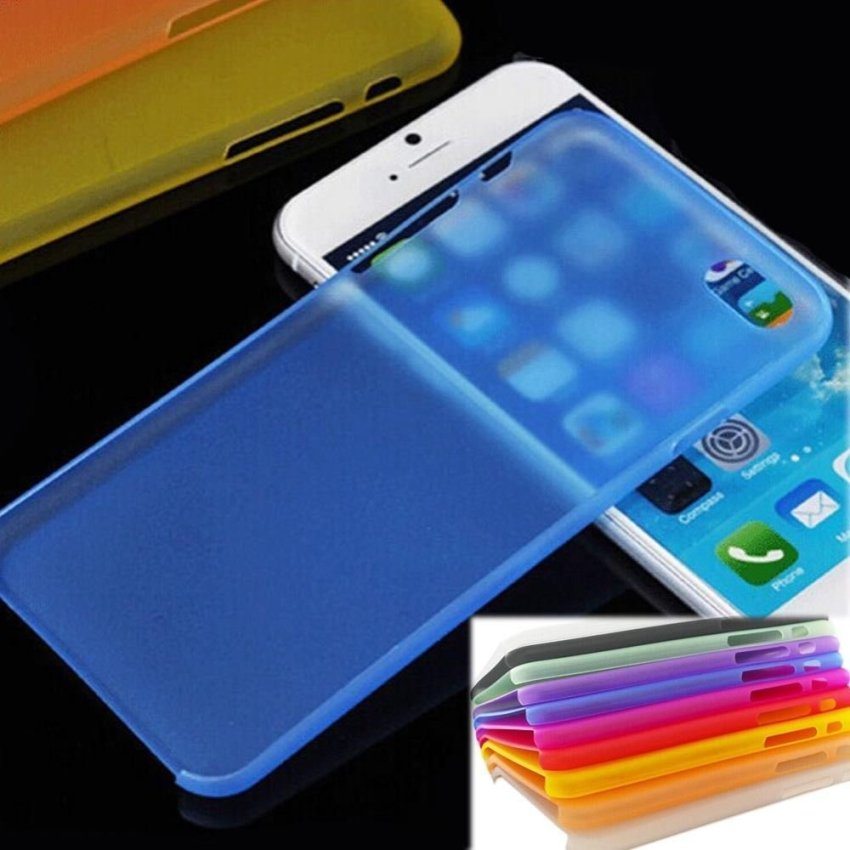 0.29mm Ultra Thin Clear Matte Hard Case Cover for iPhone 5 5G 5S Red (Intl)