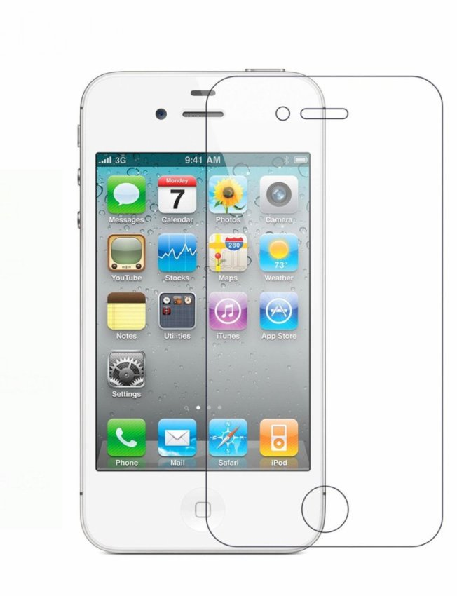 0.33mm 9H Tempered Glass Screen Protector for iPhone 4 / iPhone 4S (Clear) (Intl)