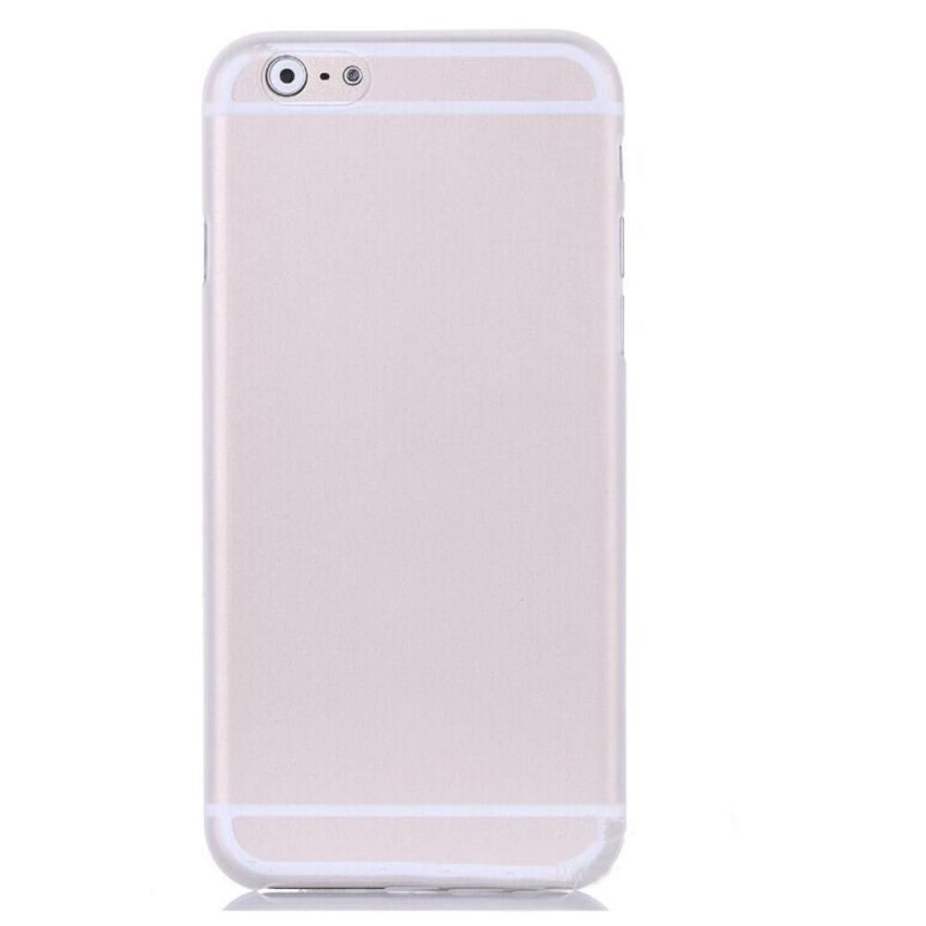 0.3mm Super Thin Matte Case Cover for iPhone 6 Plus 5.5 Clear (Intl)