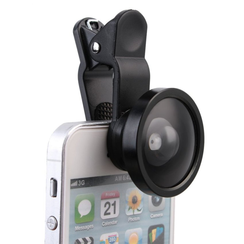0.4 Times The Ultra Wide Angle Lens Cell Phone Camera Self-Timer (Intl)