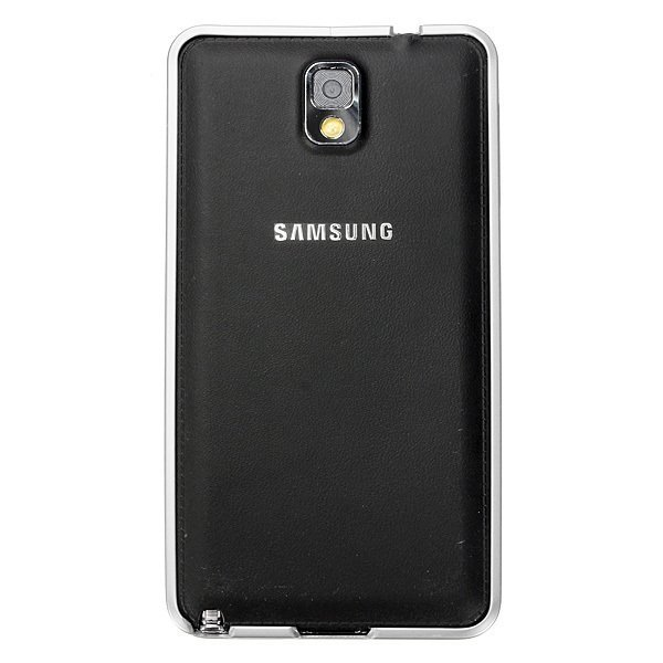 0.7mm Ultra Thin Aluminum Metal Frame Bumper Case for Samsung Galaxy Note 3 N9000 (White) (Intl)