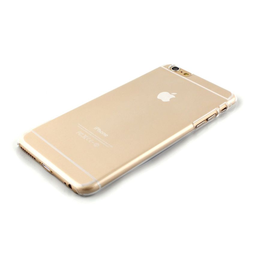 "0.9mm Ultra Thin Crystal Clear Transparent Hard Back Cover Case for iPhone 6/6s 4.7"" (Clear)(INTL)"