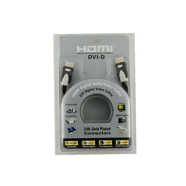 1.5m HDMI to HDMI Digital Audio/Video Cable Version 1.4 Black