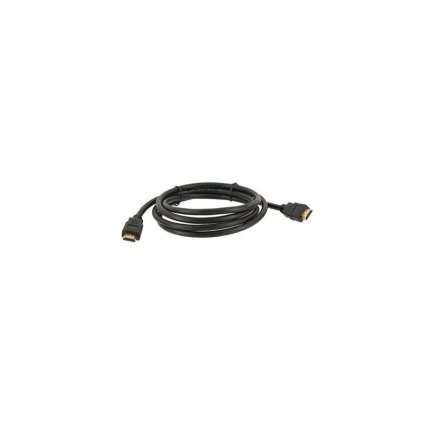 1.8m High Speed Sleek Design Gold-plated HDMI M/M Signal Cable Version 1.3 Black