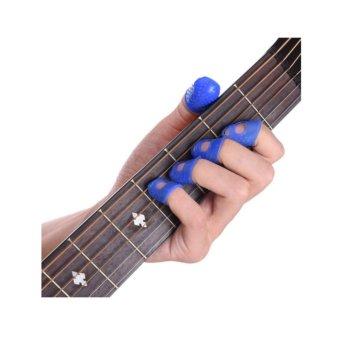 Memetik Senar Source Arla Silikon Silicon Silicone Pelindung Jari Untuk Memetiksenar Gitar Size .