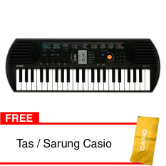 Casio Mini Keyboard SA-77 Free Tas/Sarung