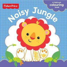 Fisher Price First Focus Frieze Noisy Jungle Colouring