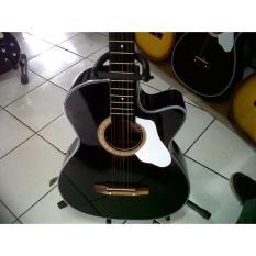 Gitar AKustik Black Beginn
