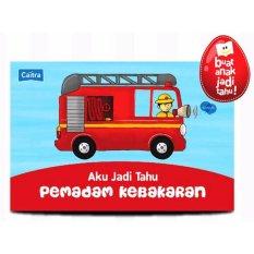 Hellopandabooks - Aku Jadi Tahu PEMADAM KEBAKARAN Boardbook + Playmap + Picture Pieces (Bilingual)