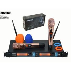 mic wireless shure blx5 c tampilan angka frequency