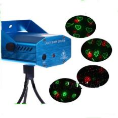 Mini Laser Stage Lighting Sensor Music / Lampu Disco Ruangan
