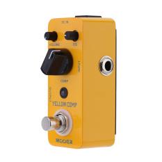 Mooer Kuning gratis Micro Mini kompresor optik efek pedal untuk gitar elektrik benar memotong