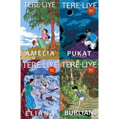 Paket 4 Novel Serial Anak-anak Mamak karya Tere Liye