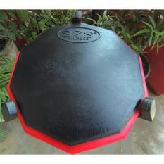 SZS Drum Pad Drumpad Classic 11inch Black Red BONUS VCD LESSON
