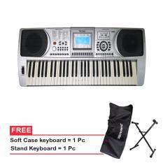 Techno Keyboard T-9800 - Hitam - Gratis Stand + Softcase