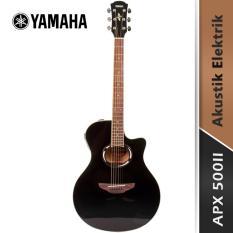 Yamaha Gitar Akustik Elektrik APX 500II - Hitam