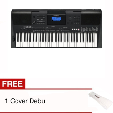 Yamaha Keyboard PSR E453 + Cover Debu