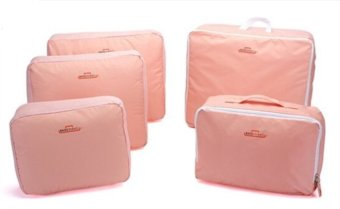 Bags in Bag Travel Set 5 in 1 - Pink