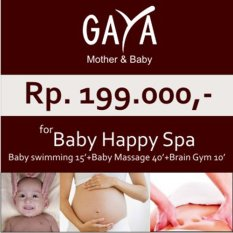 Gaya Spa Voucher Baby Happy Spa