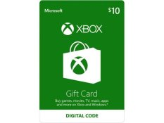 XBox Live Digital Card $10 US