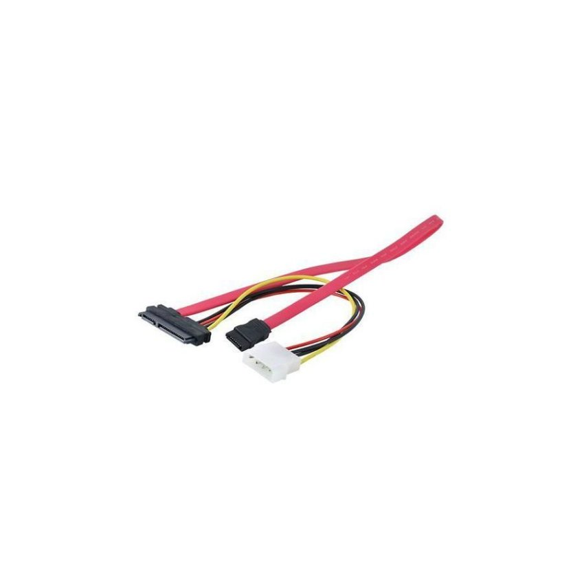 15 7 Pin Power Data Transfer to 4-Pin IDE SATA Cable Adapter Cool CPU