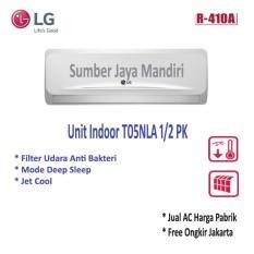 AC LG Split T05NLA 1/2 PK - Putih