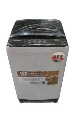 Daewoo Mesin Cuci Top Loading DWF807ELC 7 Kg - Abu Abu - Khusus Jadetabek