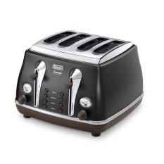 Delonghi Toasters CTOV 4003 BK- 4 Roti - Hitam
