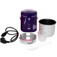 Godzu GRC-168PP Mini Portable Rice Cooker Smart Cooking New Life-Style - Rice Cooker Mini - Ungu