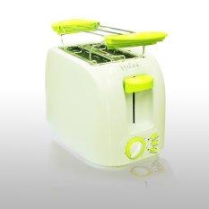 Heles HLT-200 Pemanggang Roti Electrik - Putih / Hijau