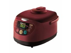 Hitachi - Rice Cooker 11 In 1 1.8 Lt Red
