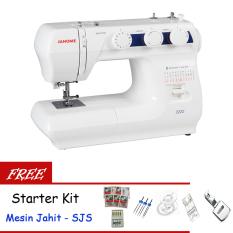 Janome 2222 Mesin Jahit Portable + Gratis SJS Starter Kit