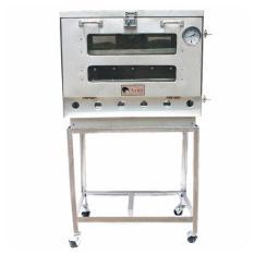 Kiwi - Oven Gas 1 Pintu Ukuran 40 X 60 cm - Perak