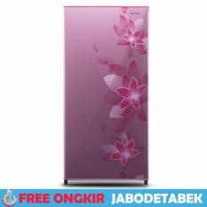 Lemari Es 1 Pintu Sharp SJ-N166F-FP Pink 128 L - Free Ongkir Jabodetabek
