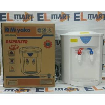 Miyako dispenser WD 186H /dispenser galon isi ulang miyako