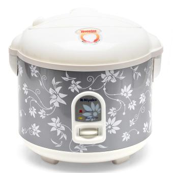 Miyako MCM528 Rice Cooker , Magic Com, Magic Jar , Penanak Nasi -1.8 L - Abu-abu