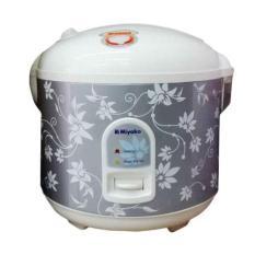 Miyako MCM528 Rice Cooker - Penanak Nasi - 1.8 L - Abu-abu (Grey)