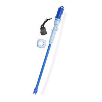 Mmstr Pompa Galon Elektrik Rechargeable - Biru