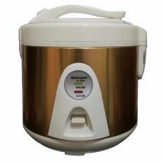 Natsuper NC1090C Rice Cooker / magic Com Kapasitas 1 LIter