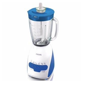 Philips Blender Gelas Plastik 2L - Biru - HR2115/30