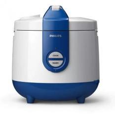 Philips HD 3118/30 Magic Com Rice Cooker - Penanak Nasi - Kap 2 Liter (Blue)