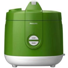 Philips HD 3127/30 Magic Com Rice Cooker - Penanak Nasi - Kap 2 Liter - Hijau (Green)