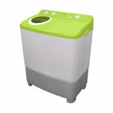 Polytron - Mesin Cuci 2 tabung - PWM 9556 GG - Light Green
