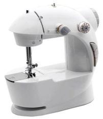 QuincyHome Mini Sewing Machine With Adaptor New - Putih