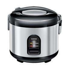 Sanken Magic Com, Magic Jar, Rice Cooker, Penanak Nasi 1.2 Liter Stainless - SJ150SP