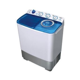 Sanken Mesin Cuci 2 Tabung 7 Kg - TW-882 - Putih / Biru - Free Shipping Jabodetabek (Blue)