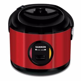 Sanken SJ-2800M Rice Cooker Tradisional 1,8L - Merah (Red)