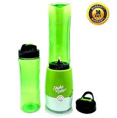 Shake and Take Blender Portabel Extra Cup Bundle - Hijau