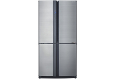 Sharp - Refrigerator 4Door 640Lt Silver